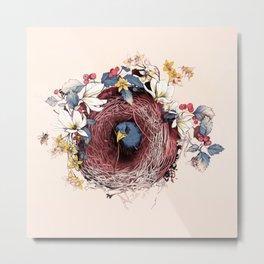 Nesting Metal Print