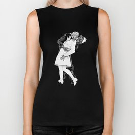 This is Z-Day - The Happy Couple (black backing) Biker Tank