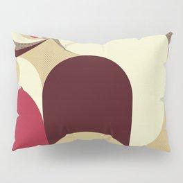 5 Colors Composition (#1) Pillow Sham
