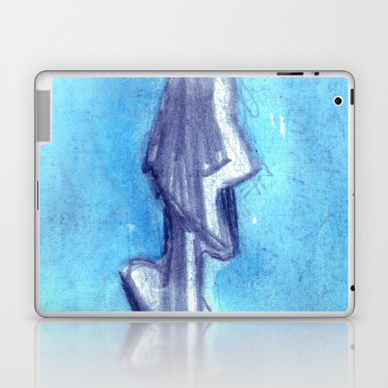 Torn by the blue sky  Laptop & iPad Skin
