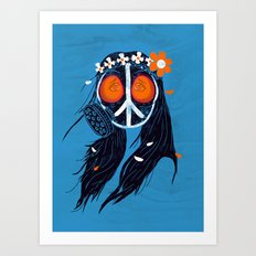War and Peace 2012 Art Print