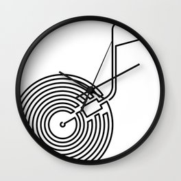 Long Play Wall Clock