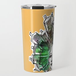 Paint the town Travel Mug