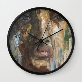 looking through Wall Clock