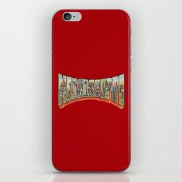 Vintge Big Letter Mississippi iPhone Skin