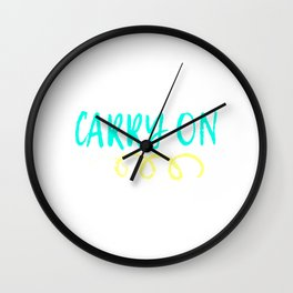 Cute simple yet fabulous tee design! If your looking for a not so glamorous tee this is for you!  Wall Clock