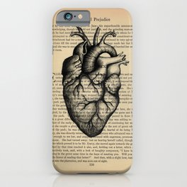 Pride & Prejudice, Chapter XXXV: Anatomical Heart iPhone Case