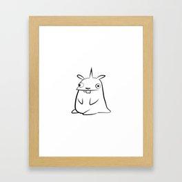 minima - lülle 2 Framed Art Print