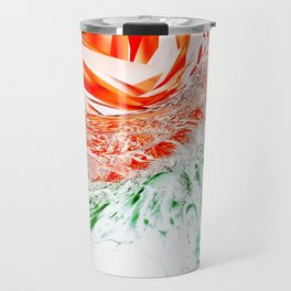 """Glass Rose"" Travel Mug"