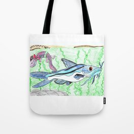 Mexican Blue Catfish Tote Bag