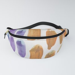 46 | 190330 Watercolour Abstract Brush Strokes Fanny Pack