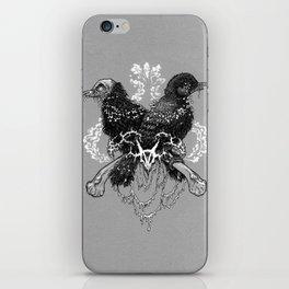 Hells pigeons iPhone Skin