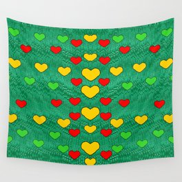 love is in all of us to give and show Wall Tapestry