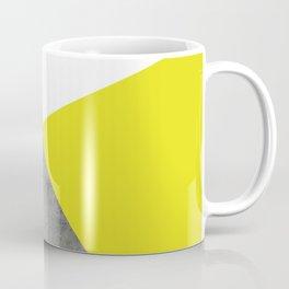 Concrete vs Corn Yellow Coffee Mug