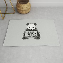 Don't Grow Up It's a Trap Rug