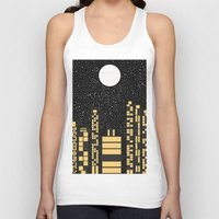 starry night Tank Tops featuring Starry Night by Alisa Galitsyna