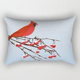 AFE Red Cardinal Rectangular Pillow