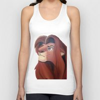 simba Tank Tops featuring Simba by Jgarciat