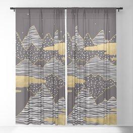 Starry Sky Sheer Curtain