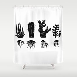 PLANT LOVERS Shower Curtain