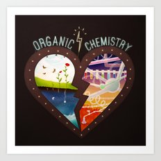 Organic Chemistry Art Print
