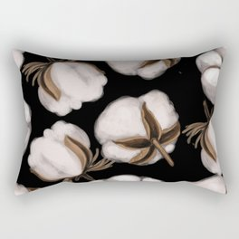 Cotton flower Rectangular Pillow