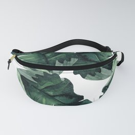 Banana Leaves Pattern Green Fanny Pack