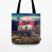 rhino Tote Bags featuring Rhino by Ali GULEC