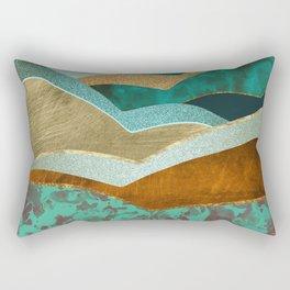 Golden Hills Rectangular Pillow