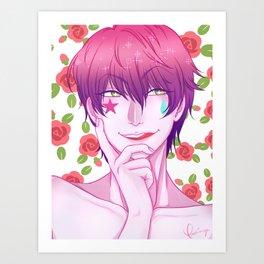 Hisoka: Eat Your Heart Out Art Print