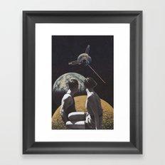 Satellites Framed Art Print