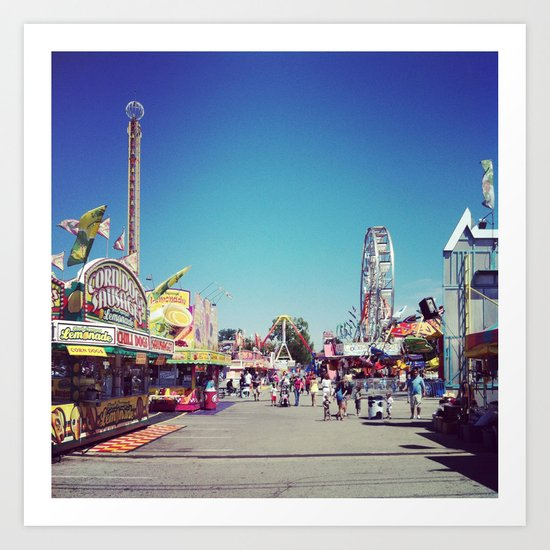 Fair Time Art Print