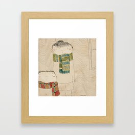 "Manuela & Lolo. ""Bufandas"" Collection Framed Art Print"