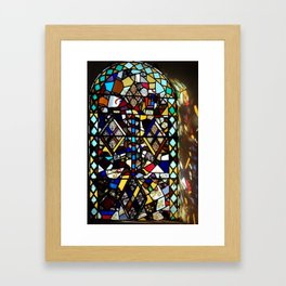 Beauty in Brokenness Andreas 4 Framed Art Print