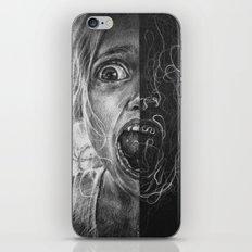 Girl Scream iPhone & iPod Skin