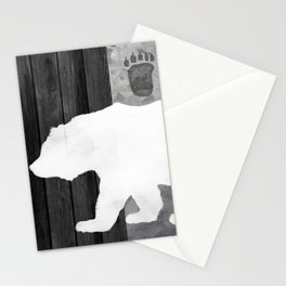 White Bear Stationery Cards