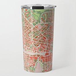 Munich city map classic Travel Mug
