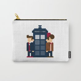 Doctor Who 10th & 11th Carry-All Pouch