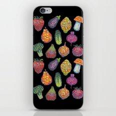Vitamins (black) iPhone & iPod Skin