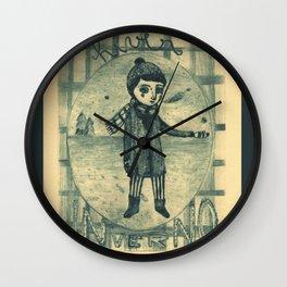 Inverno_Hiver_Winter Wall Clock