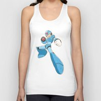 mega man Tank Tops featuring Mega-Man by HypersVE