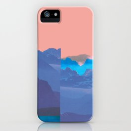 Mountain Mix 17.1 iPhone Case