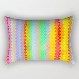 Re-Created  Flying Carpet VI Rectangular Pillow