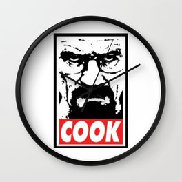 Walter White Cook Wall Clock