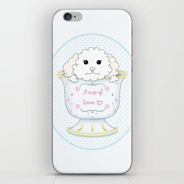 Cup of love iPhone Skin