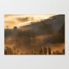 Lux et umbras Canvas Print