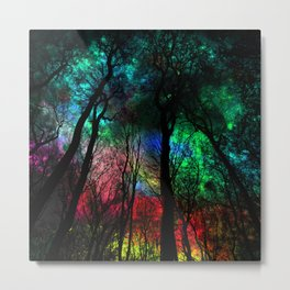 blissful forest Metal Print