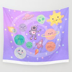 Cute Space Wall Tapestry