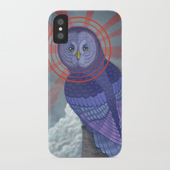 Great Grey Owl iPhone Case