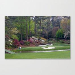 Augusta Amen Corner Golf Canvas Print